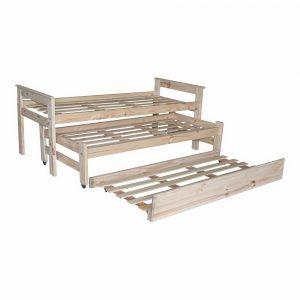 Cama nido con carro cama